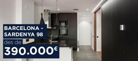 pisos obra nova barcelona sardenya